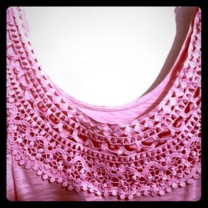 Tops - Crocheted muscle top